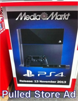 Potential PS4 Release Date