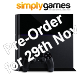 Simple Games PS4 Pre-Order