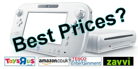 Wii U Best Prices